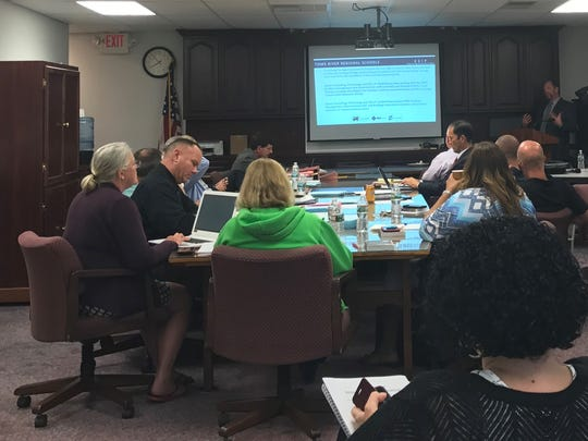"""The Toms River Board of Education meets on Aug. 9, two days after the panel met in closed session to authorize its attorney to conduct an investigation into """"leaks"""" in New Jersey's fifth-largest school district."""