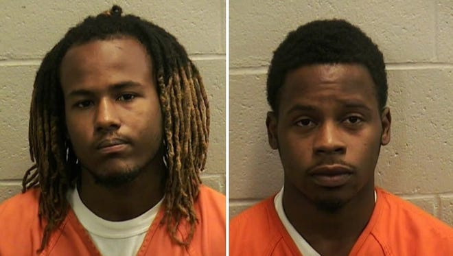 Deshaun Henderson, left, and Jwan Wright, right, were charged Aug. 18 in connection to a July 27 shooting on Hobbs Avenue in Oshkosh.