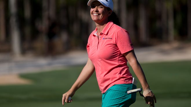 Naples resident and LPGA Tour player Mo Martin will be among two dozen tour golfers playing in the Immokalee Charity Classic Pro-Am on Monday at Bay Colony.