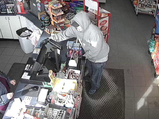 Plymouth gas station robbery