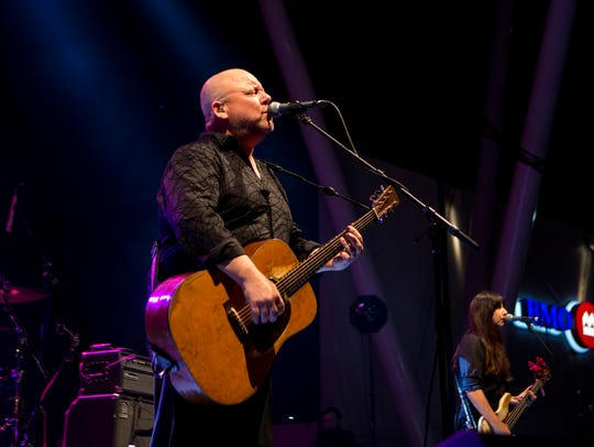 Pixies perform at the BMO Harris Pavilion July 4.