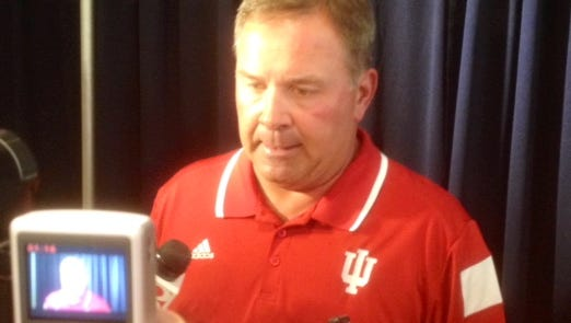 Indiana coach Kevin Wilson