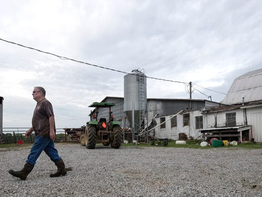 Drop in national milk consumption hurts Kentucky cow farms