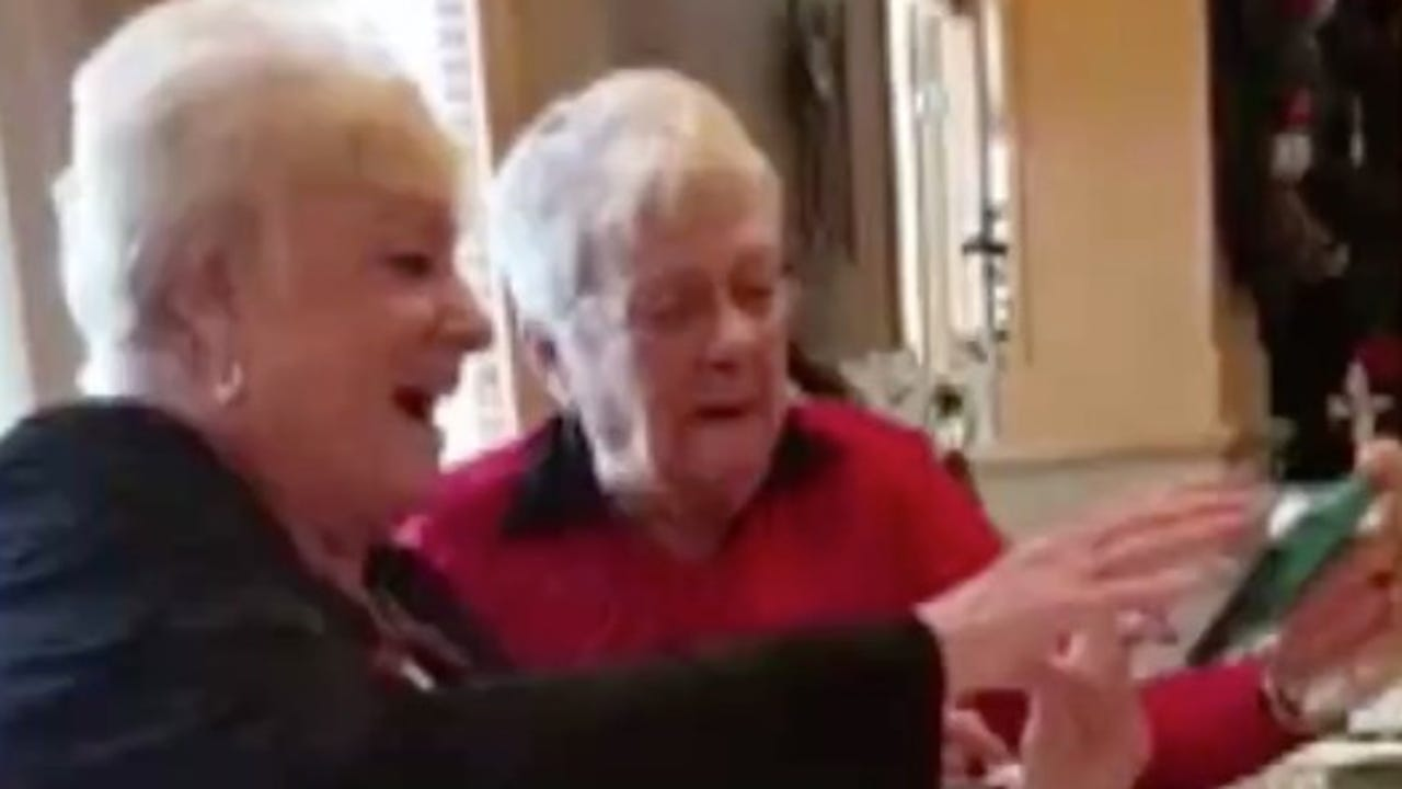 How many grandmas does it take to take a selfie?
