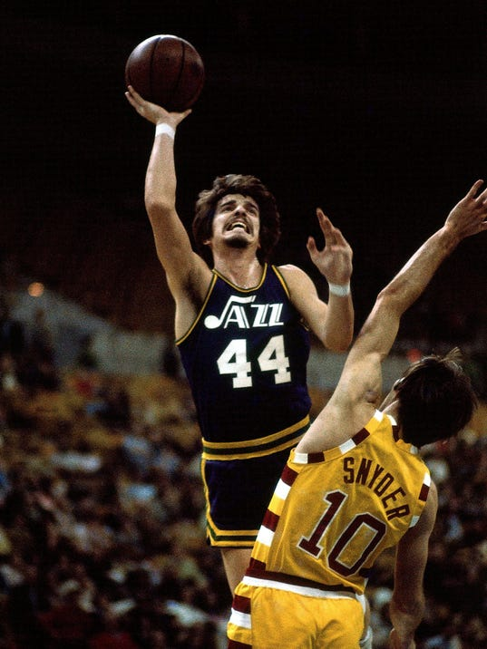 Pete Maravich's look was of the times but his game was ...