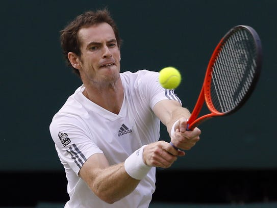 Andy Murray of Britain won the 2013 men's singles title at the All England Lawn Tennis Championships in Wimbledon, London.