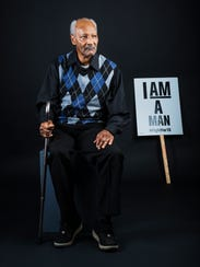 The Rev. Leslie Moore, 70, participated in the 1968