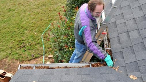 It seems cleaning the gutters is a never ending task in the fall.