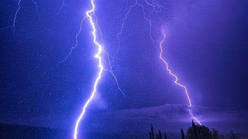 Thunderstorms are possible Friday in south-central Michigan, including the Lansing area.