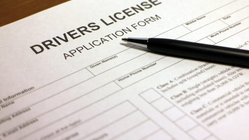 Should drivers display their license and registration in a spot they don't have to reach for?