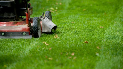 Start the season by sharpening your lawn mower blades.