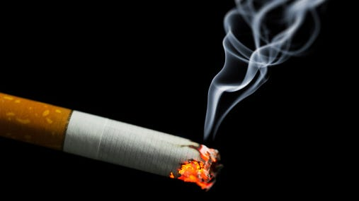 The county observed 95 percent compliance with tobacco laws that prohibit sales to minors during compliance checks in 2014.