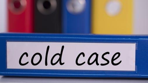 Cold case on blue business binder