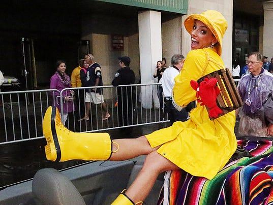 Miss America Shoe Parade