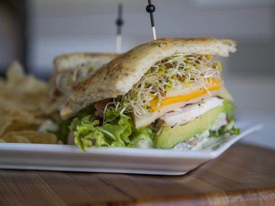 The Cobb sandwich from Ncounter in Tempe.