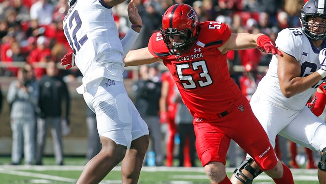 The Toronto Argonauts on Monday announced the signing of former Texas Tech defensive end Eli Howard (53).