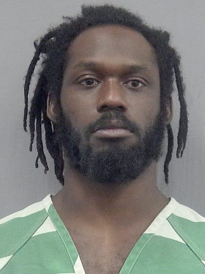 This undated photo provided by the Gainsville, Fla., Police Department shows WWE wrestler Rich Swann. Swann is being held without bail in a Florida jail after he was arrested Saturday, Dec. 9, 2017 and charged with battery and false imprisonment.