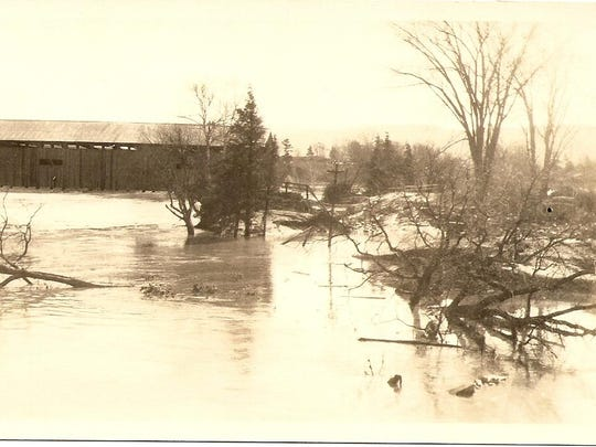 4. Covered bridge by the Checkered House