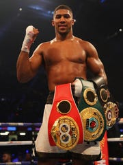 Anthony Joshua, boxing, heavyweight championship