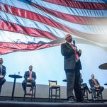 11th District House hopefuls align themselves with Trump at GOP forum