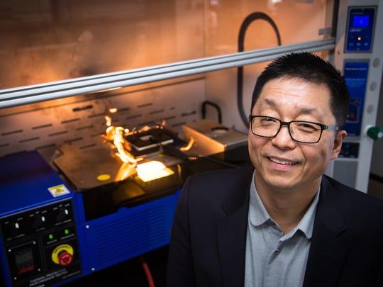 Guowen Song, an associate professor at Iowa State,