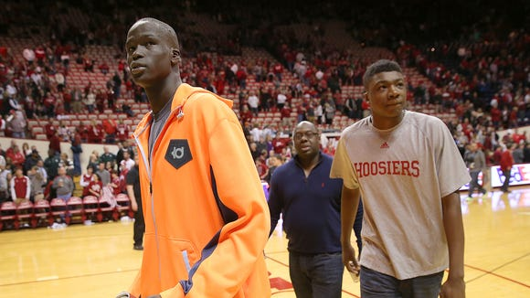 IU remains involved with Thon Maker (left) and Thomas Bryant (right), five-star 2015 post recruits who could significantly change their fortunes for next season.
