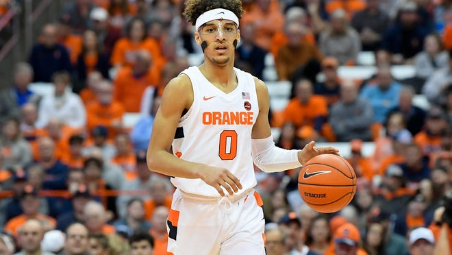 Brycen Goodine, who played for Syracuse last season, has been granted a transfer waiver and will be able to suit up for Providence Collge this season.