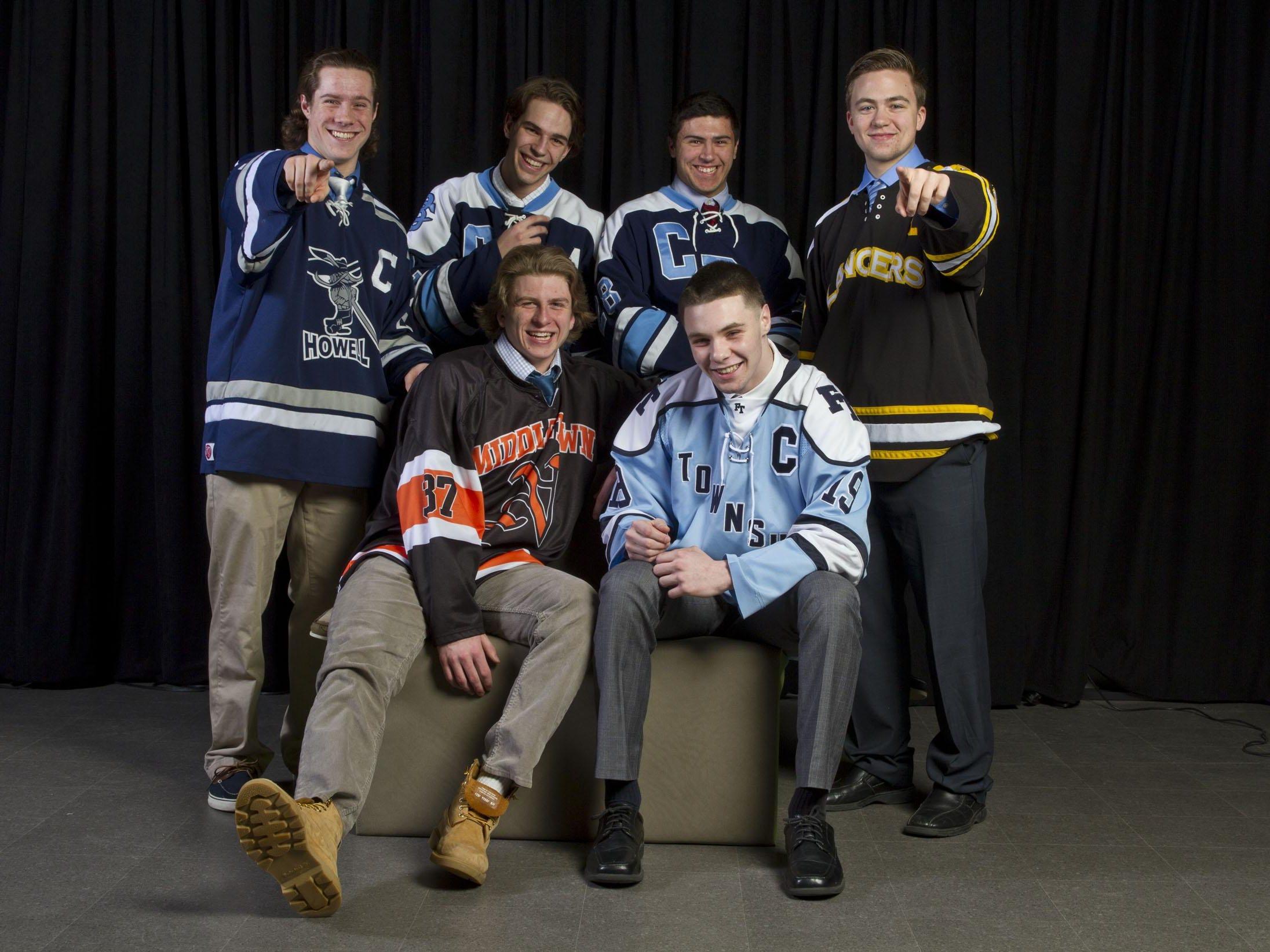 The 2014-15 Asbury Park Press All-Shore Ice Hockey Team.