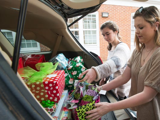 Montgomery Academy Present Donation