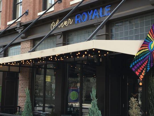 Oliver Royale, 5 Market Square. Seasonal American dishes