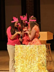 State FFA Officers don't mind hogging the attention,