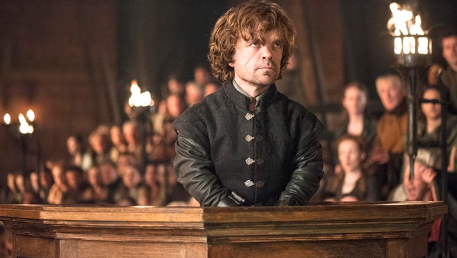 """This photo provided by HBO shows Peter Dinklage as Tyrion Lannister of """"Game of Thrones."""""""