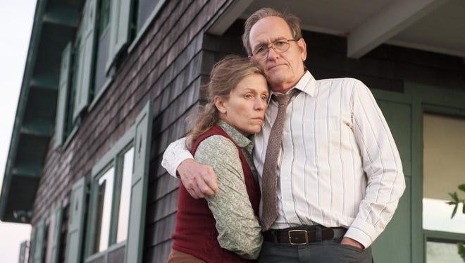 Frances McDormand. and Richard Jenkins star in HBO's 'Olive Kitteridge.'