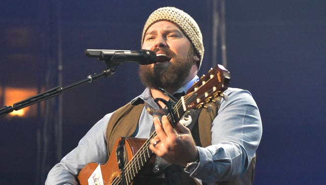 Zac Brown of the Zac Brown Band performs at SAP Center on November 16, 2013 in San Jose, Calif.