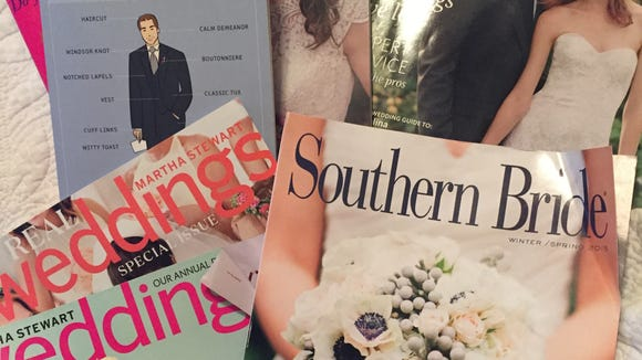 There is no shortage of wedding related reading material.