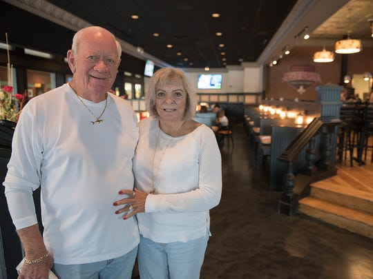 """Al Marmion and Elizabeth Healy declared that they """"loved the place"""". They are Florida residents visiting friends."""