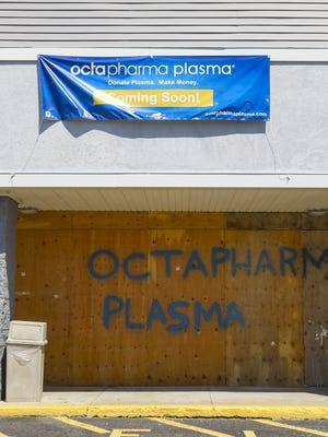 Octapharma Plasma at 752 Crescent Street is coming soon, photographed on Sunday, Aug, 9, 2020.
