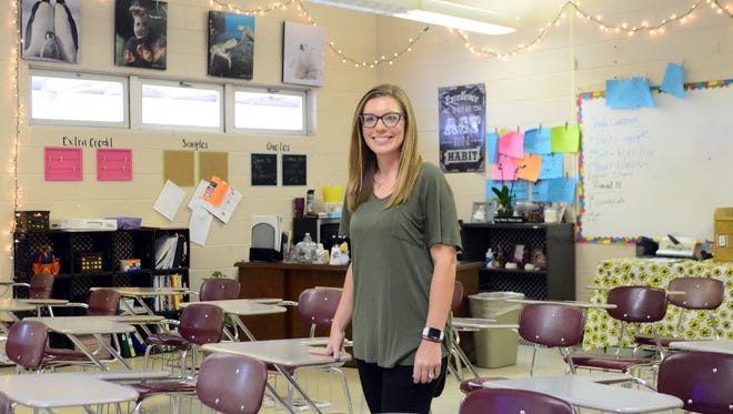 Tiffany Stone has taught science and coached soccer at Forrest County Agricultural High School since 2014.