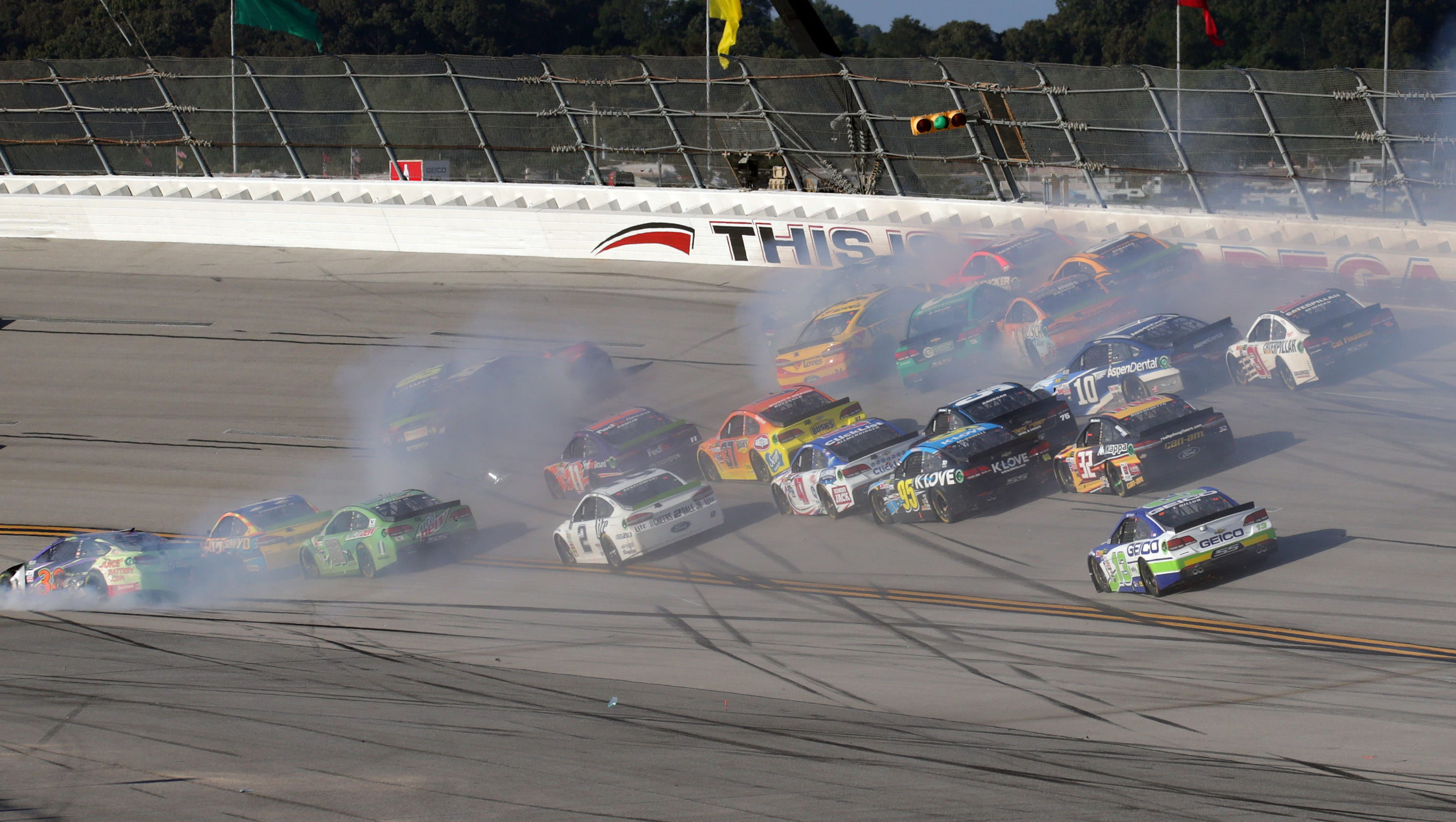 NASCAR: Watch wild and memorable crashes at Talladega Superspeedway