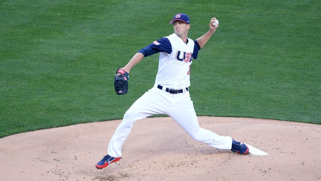 Drew Smyly pitched for Team USA in thee World Baseball Classic, but suffered a flexor strain and will miss 6-to-8 weeks.