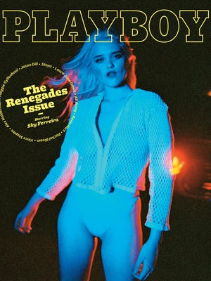 """Playboy unveiled its October 2016 edition – """"The Renegades Issue,"""" starring actress and musician, Sky Ferreira. The edition also includes an interview with journalist Noor Tagouri."""