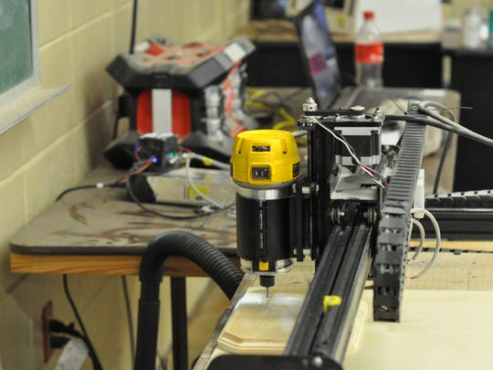 Oak Hill High School ag students are raising money to buy a 3D carver similar to this one.