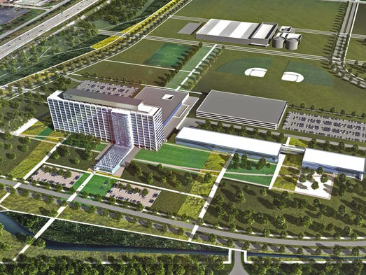 Ford unveils 10 year plan to transform dearborn campus for Ford motor company corporate office