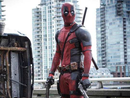 """Ryan Reynolds stars as an unlikely superhero with a filthy mouth in """"Deadpool."""""""