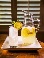 Chef Robin Miller created lemony lemonade with lemon simple syrup to celebrate National Lemonade Day.
