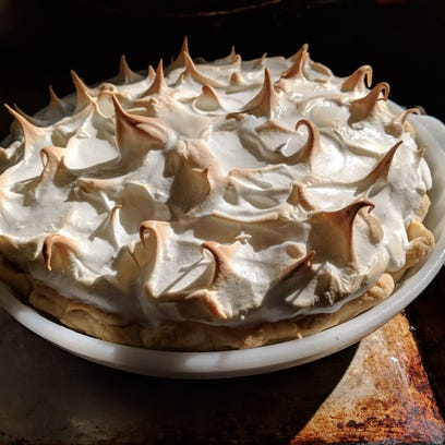 Celebrate Pi Day with a slice of lemon meringue or Key lime pie