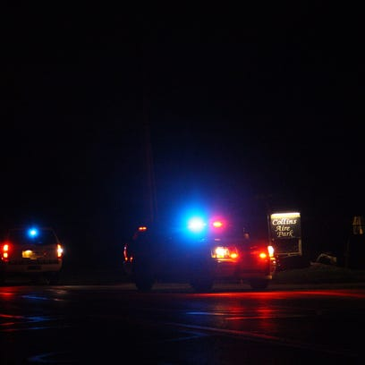 Police were on the scene of a reported shooting Tuesday