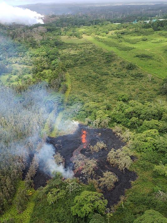 EPA USA HAWAII VOLCANO DIS VOLCANIC ERUPTION USA HI