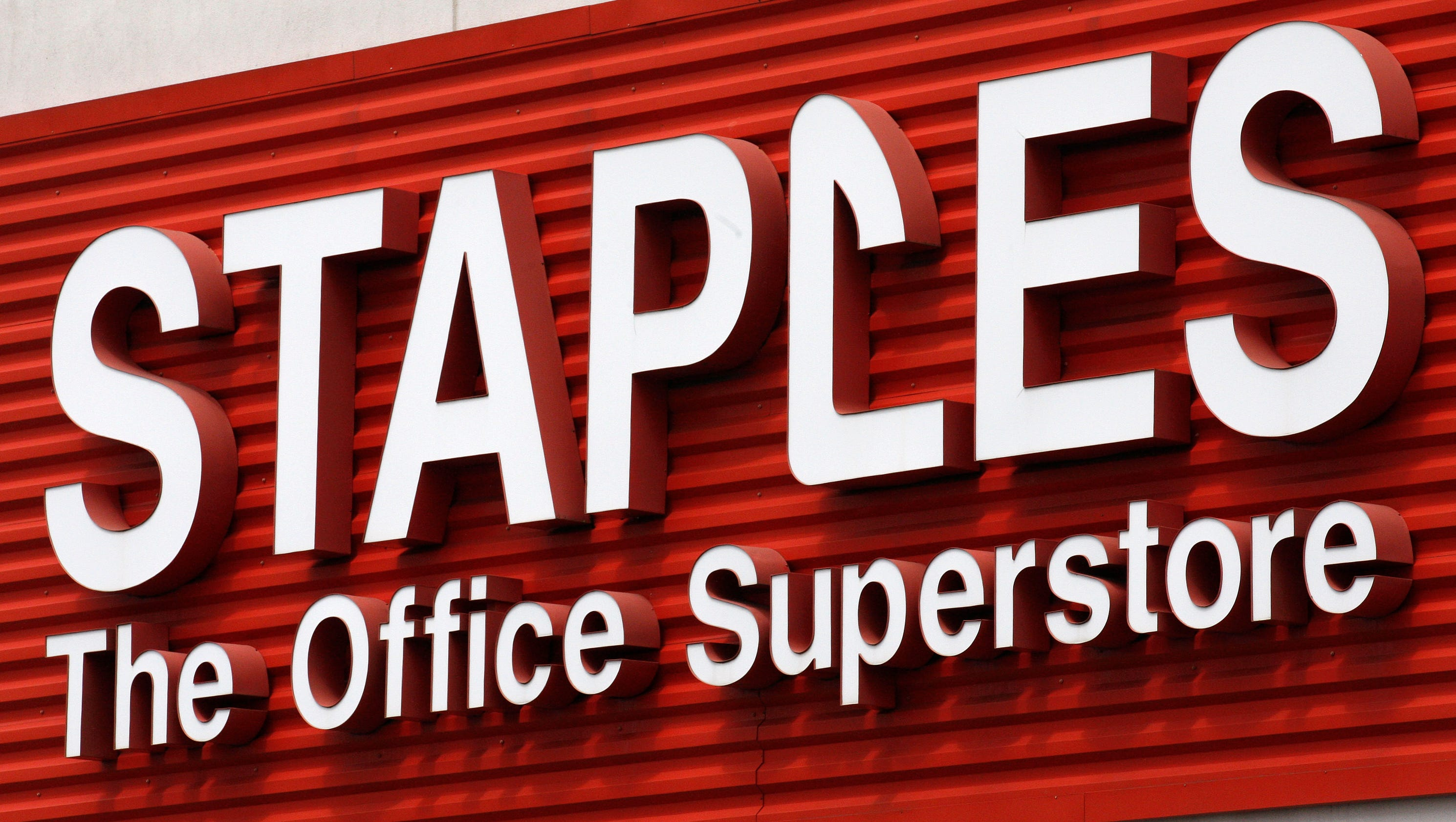 office retailer staples may be up for sale sparking surge in