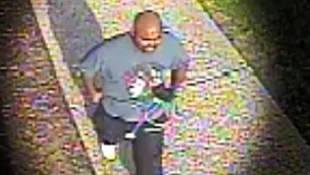 Detroit police released images Wednesday of a suspect wanted in a hit-and-run accident that injured a 2-year-old girl on the city's east side.